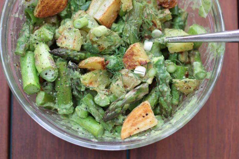 asparagus-potato-avocado-salad